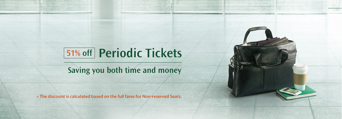 51% off Periodic Tickets