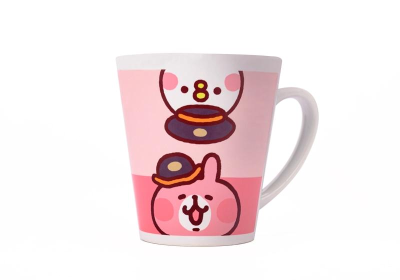 高鐵聯名馬克杯-粉紅