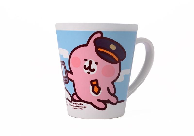 高鐵聯名馬克杯-粉藍