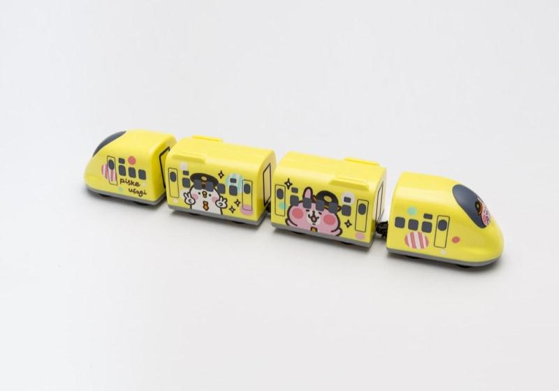 高鐵聯名迴力車四輛組-黃