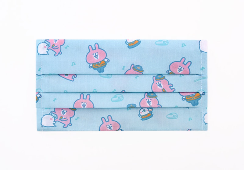 高鐵聯名口罩套-粉藍