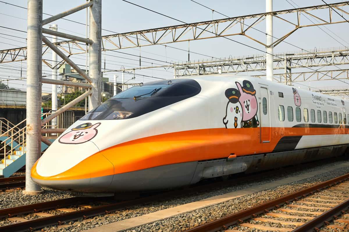彩繪列車車體