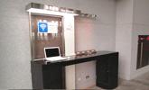 苗栗站上網台位於1樓大廳,提供公用筆電上網