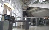 新竹站上網台位於1樓大廳,提供公用筆電上網