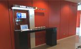 彰化站上網台位於1樓大廳,提供公用筆電上網